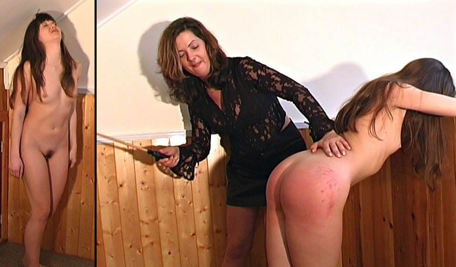 Punishment naked girls spanking